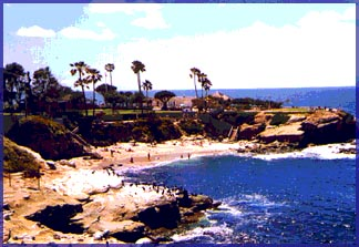 Beach at La Jolla